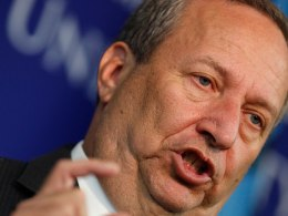 Image: FILE: Larry Summers Withdraws From Fed Chair Jo