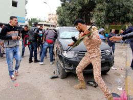 Image: Benghazi clashes
