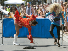 Image: US-OFFBEAT-DRAGQUEEN-RACE