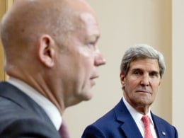Image: US Secretary of State John Kerry Visits The UK