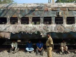 Image: INDIA-TRAIN-ACCIDENT