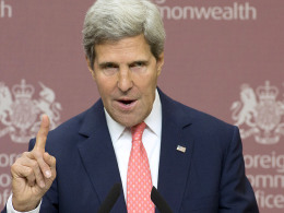 Image: SYRIA-CONFLICT-US-BRITAIN-KERRY