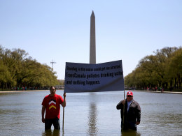 Image: The Cowboy And Indian Alliance Protests The Keystone XL Pipeline