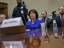 Image: Former IRS Director Lois Lerner Testifies To A House Oversight Committee On IRS Targeting Scandal