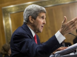Image: Secretary of State John Kerry Testifies To Senate Committee On International Affairs Budget For FY2015