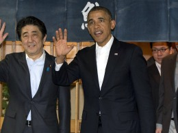 Image: Barack Obama, Shinzo Abe