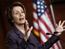 Image: Nancy Pelosi Holds Press Conference On Capitol Hill
