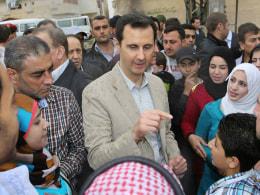 Image: Bashar Assad
