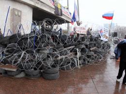 Image: UKRAINE-RUSSIA-CRISIS-POLITICS-DONETSK