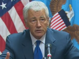 Image: Defense Secretary Chuck Hagel
