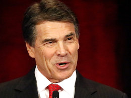 Image: Texas Governor Rick Perry speaks to National Right to Life Convention