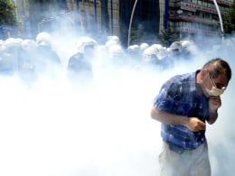 Image: Demonstrations in Istanbul