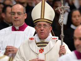 Image: Pope's midnight Christmas Mass