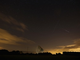 Meteor Shower Over The United Kingdom