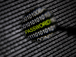 Image: File picture illustration of the word 'password' pictured through a magnifying glass on a computer screen taken in Berlin