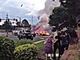 Video Louisiana Car Chase Escape Crash