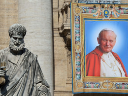 Image: VATICAN-RELIGION-POPE-CANONISATION