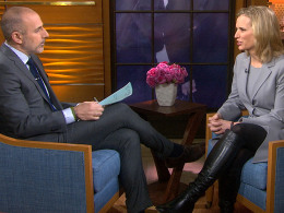 Kerry Kennedy talks to TODAY's Matt Lauer