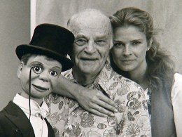 Candice Bergen and charlie mccarthy