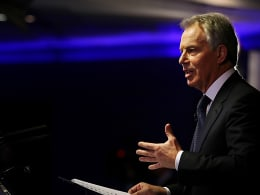 Image: Tony Blair's Keynote Speech On The Middle East and North Africa