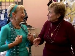 Bra fitting leads to confusion for 'Golden Sisters' - Video on TODAY ...
