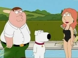 satire family guy The center of this show is the griffin family who includes the the use of satire is meant to be family guy is a sitcom that entertains people through its.