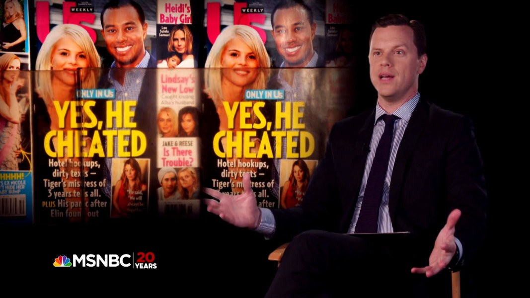 Willie Geist Reflects on the Tiger Woods Scandal
