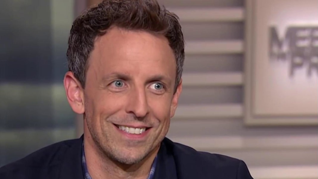 Seth Meyers, host of
