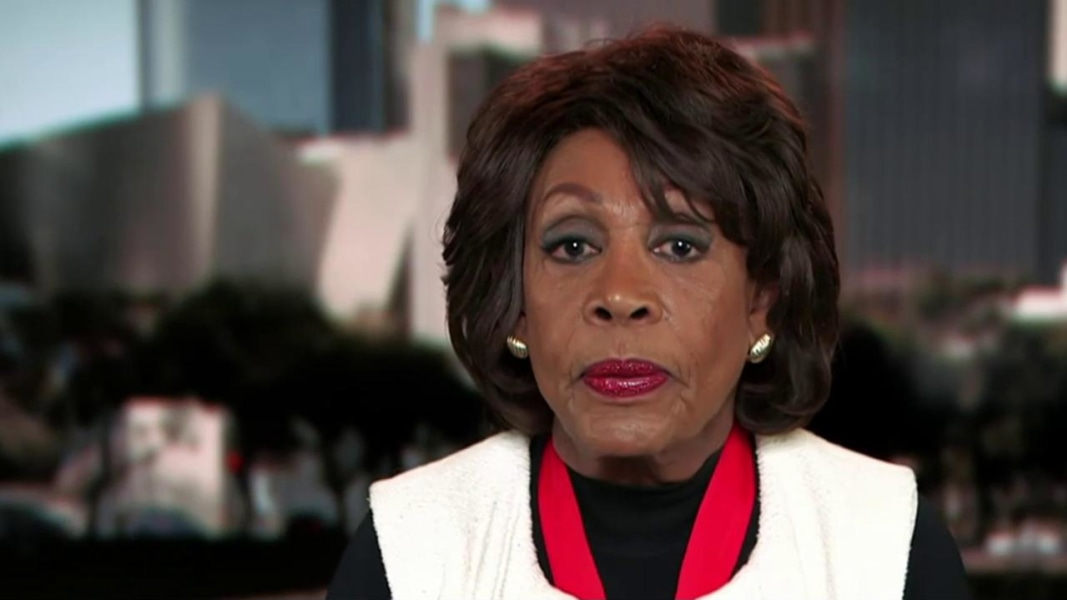a biography of congresswoman maxine waters on drug trafficking in the us
