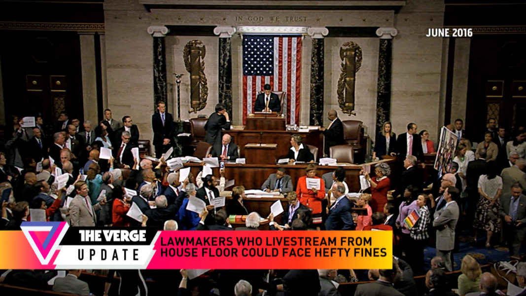 Msnbc Live Stream: Hefty Fines For Lawmakers Who Livestream From House Floor