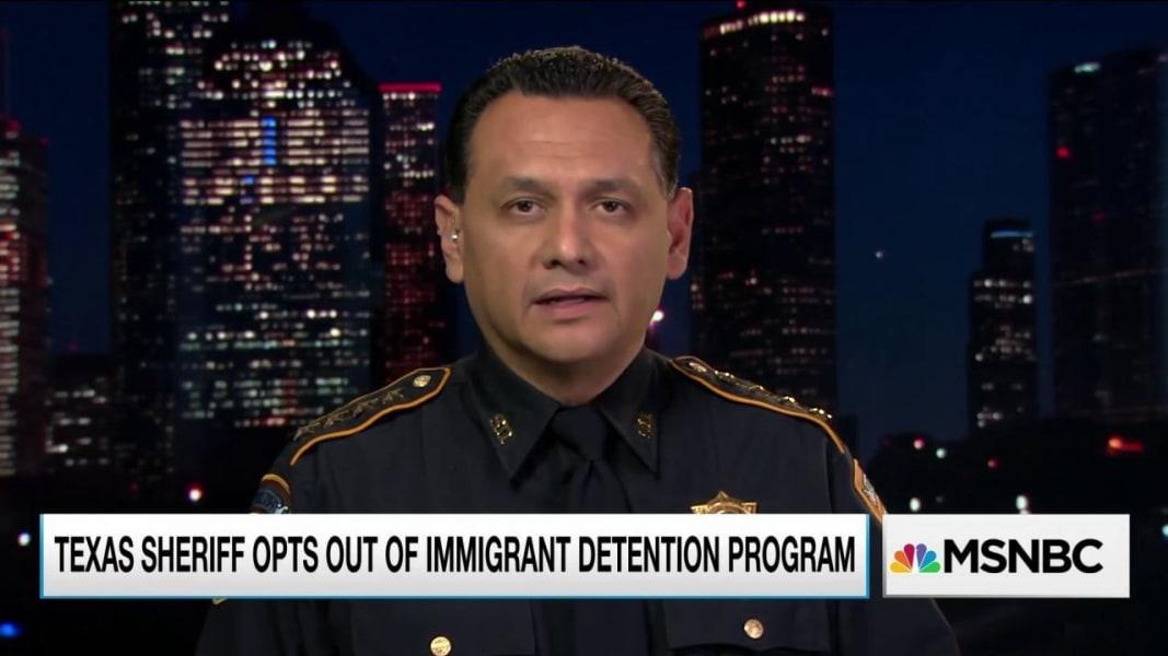 Texas sheriff rejects immigration enforcement role | MSNBC