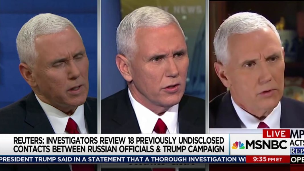 False denials from Mike Pence continue to stack up
