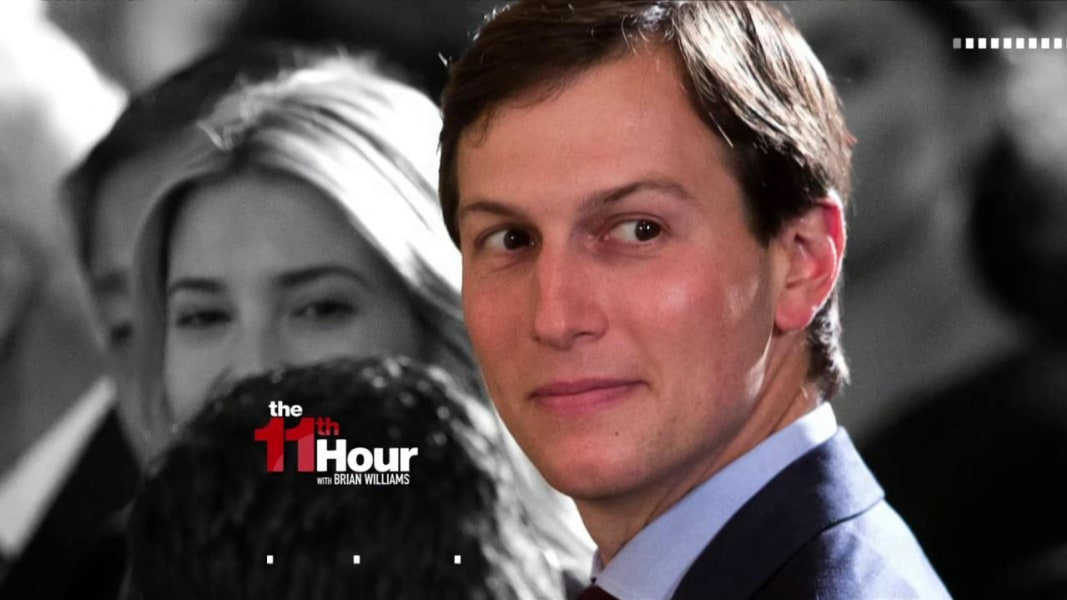 Fmr. Watergate prosecutor: There is proof Jared Kushner ...