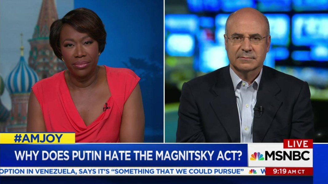 Browder: My lawyer Magnitsky was murdered by Putin