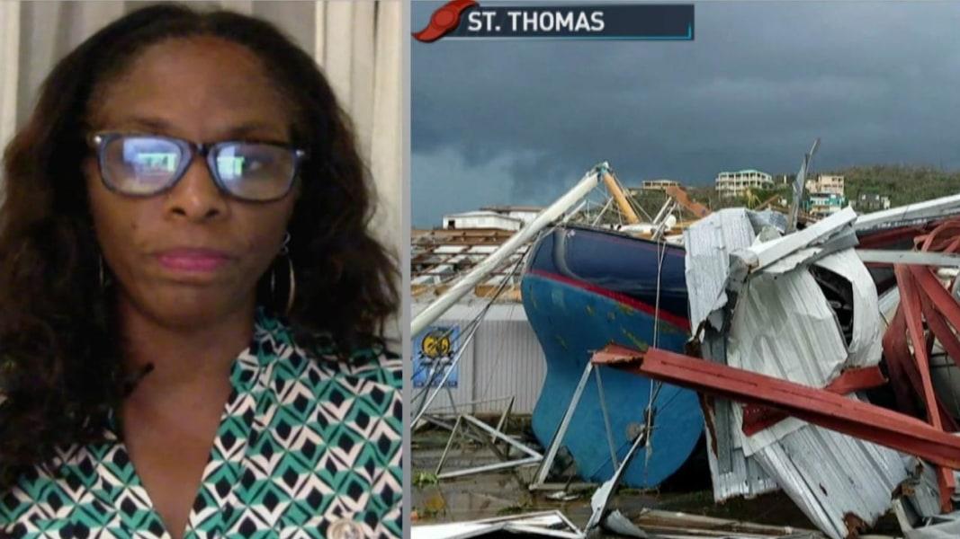 'Apocalyptic' destruction in U.S. Virgin Islands after Irma