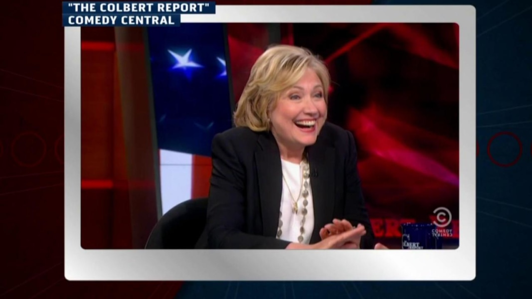Hillary Clinton drops by 'The Colbert Report' | MSNBC