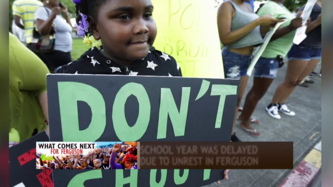 How Ferguson's kids have been affected