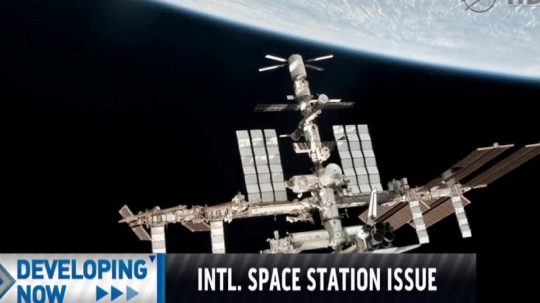 Leak on US side of space station prompts evacuation | MSNBC