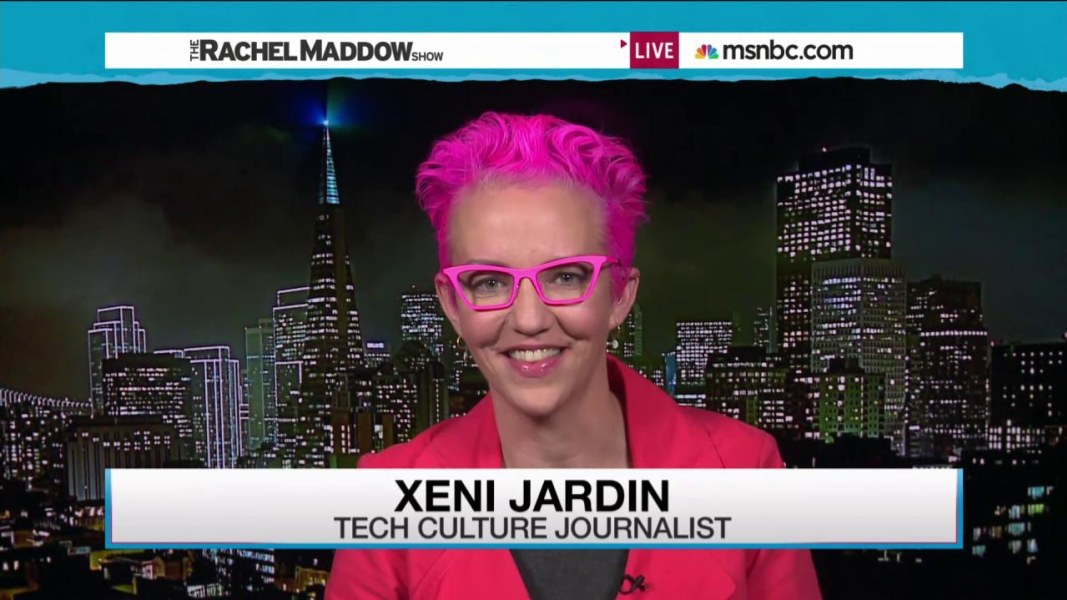 You want the apple watch whether you know it or not msnbc for Xeni jardin 2015