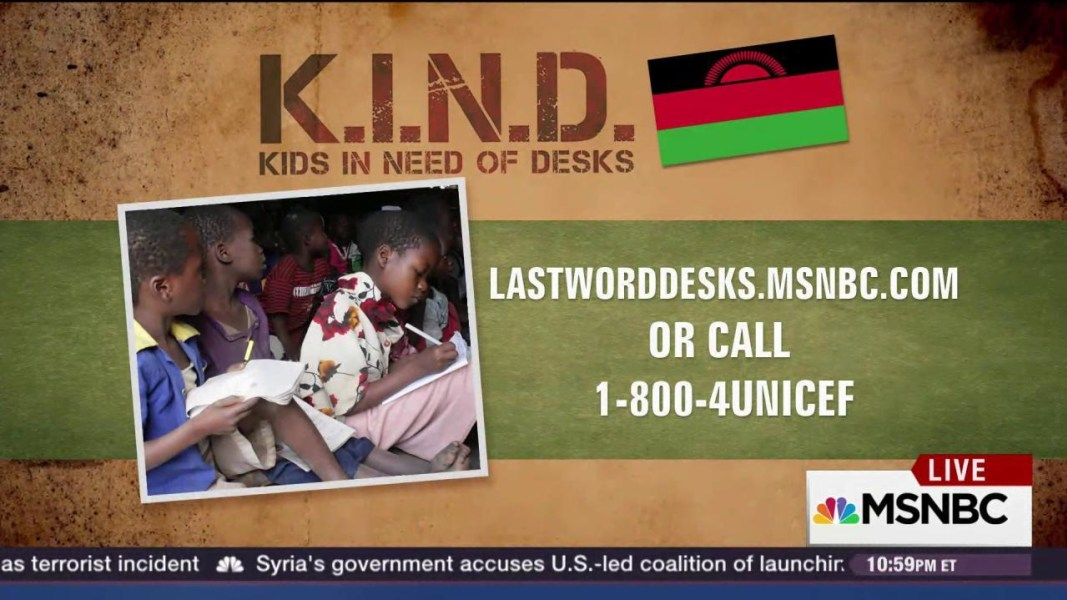 Kind Fund Helping More Girls Finish School Msnbc