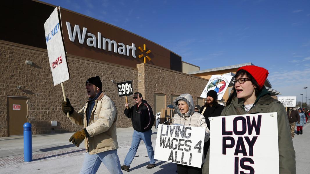 Black Friday Wal-Mart protests