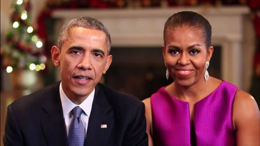 The Obamas share their Christmas message | MSNBC