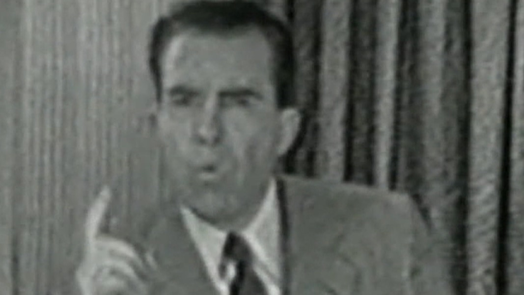 nixons checkers speech Eisenhower - primary resources: nixon's checkers speech eisenhower's vice president, richard nixon, cites and defends himself against an independent audit claiming he used contributions for personal expenses.