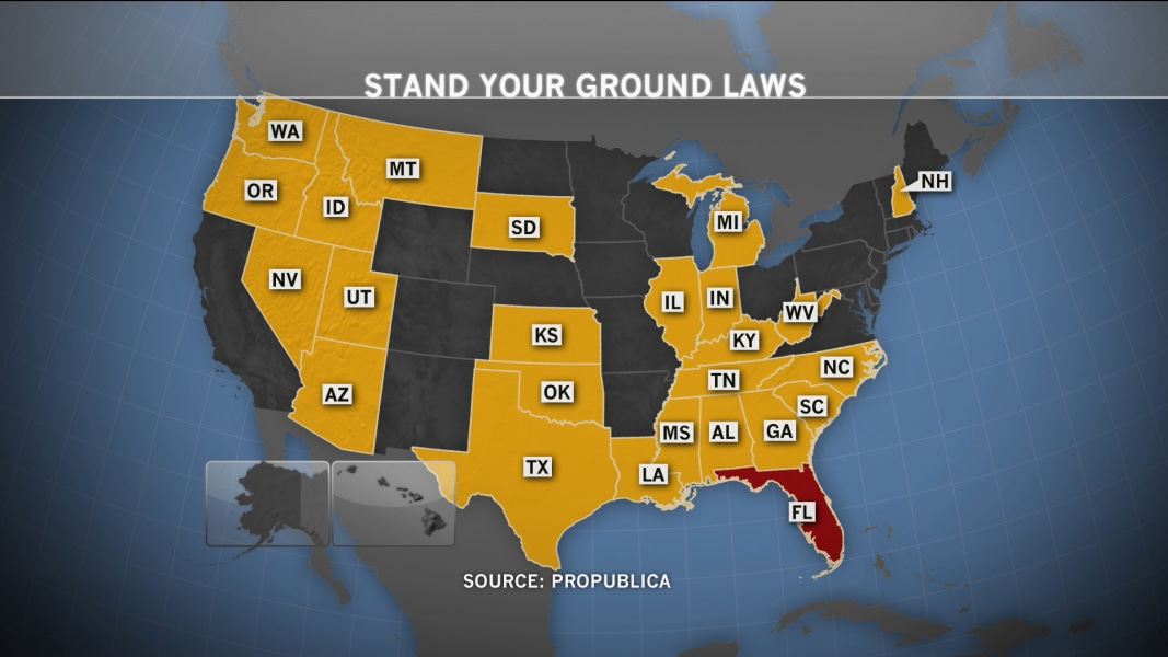 stand your ground law debate cons 'stand your ground' laws: the facts don't support fears of armed citizens sponsored and voted for a bill expanding illinois' stand your ground law.