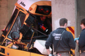 Driver, student killed in school bus crash