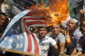 Anti-West protests spread across Muslim world