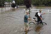Flood threat not over in New Jersey