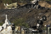 Plane crash kills Russian hockey players