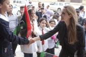 Angelina Jolie visits Libya, praises...