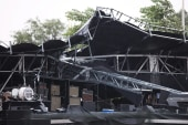 Stage collapses at Canadian music festival